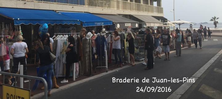 Braderie de Juan-les-Pins ce week-end!!!