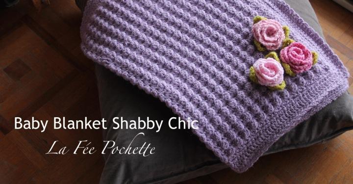 Baby Blanket ShabbyChic